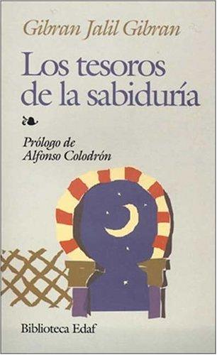 Tesoros de La Sabiduria Kahlil Gibran