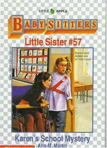 Karens School Mystery (Baby-sitters Little Sister, #57)  by  Ann M. Martin