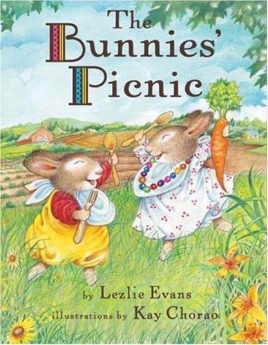 The Bunnies Picnic Lezlie Evans