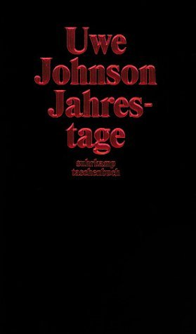 Jahrestage  by  Uwe Johnson