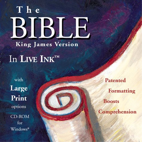 Holy Bible:  KJV:  The BIBLE in LIVE INK(tm) Anonymous