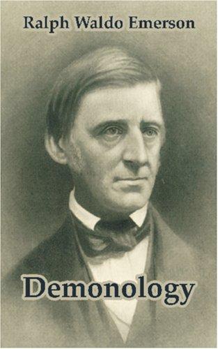 Demonology Ralph Waldo Emerson