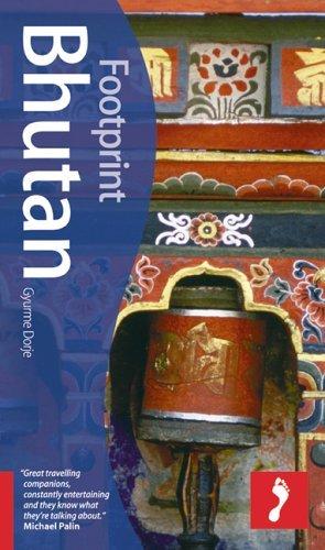 Footprint Bhutan  by  Gyurme Dorje