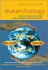 Human Ecology: Basic Concepts for Sustainable Development Gerald G. Marten