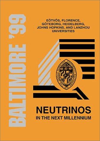Neutrinos in the Next Millennium  by  Gabor Domokos