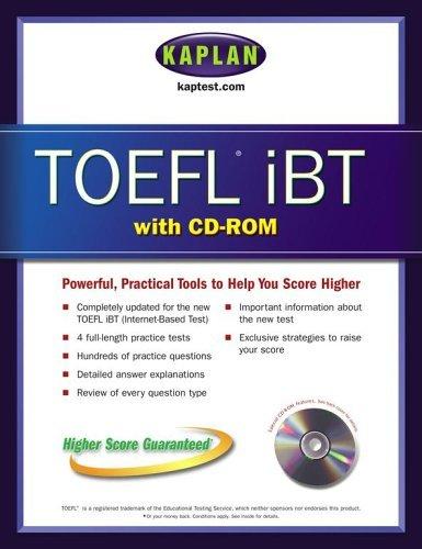 TOEFL iBT with CD-ROM Kaplan Inc.