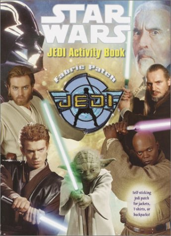 Jedi Fabric Patch Activity Book  by  Random House Value Publishing