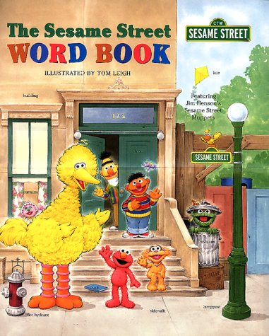 The Sesame Street Word Book Tom Leigh