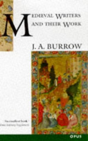A Book of Middle English J.A. Burrow