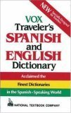 Vox Travelers Spanish and English Dictionary National Textbook Company