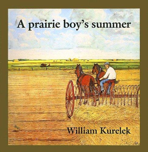 A Prairie Boys Summer  by  William Kurelek