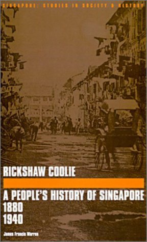 Rickshaw Coolie James Francis Warren