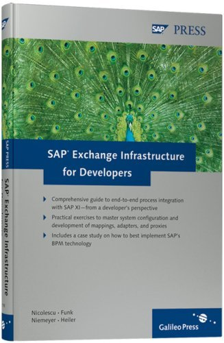 SAP Exchange Infrastructure for Developers  by  V. Nicolescu