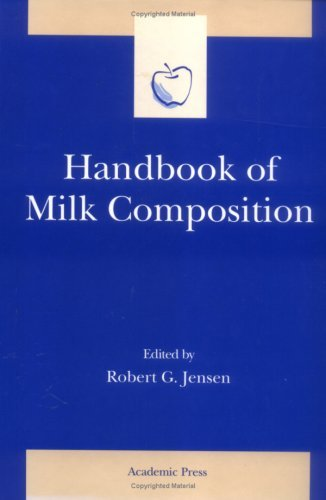 Handbook Of Milk Composition Robert G. Jensen