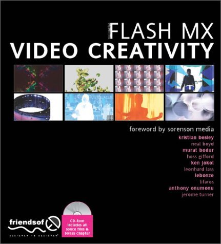 Flash MX Video Creativity  by  Erwan Bezie
