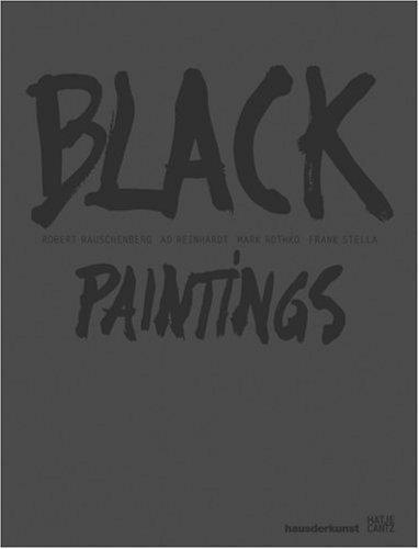 Black Paintings Robert Rauschenberg