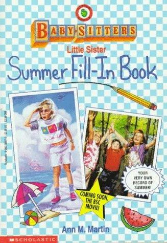 Summer Fill-In Book Ann M. Martin