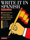 Write It in Spanish Christopher Kendris