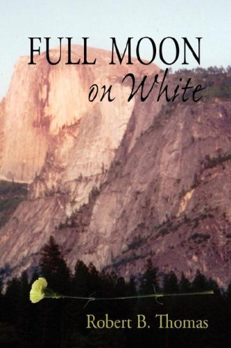 Full Moon on White  by  Robert B. Thomas