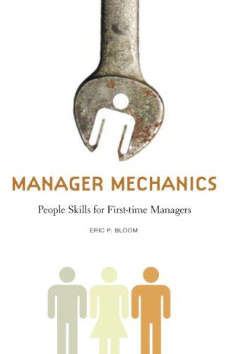 Manager Mechanics Eric P. Bloom