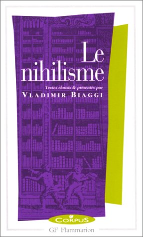 Le Nihilisme  by  Vladimir Biaggi