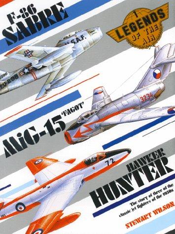 Sabre, MIG-15 & Hunter  by  Stewart Wilson