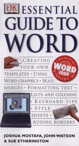 Essential Guide to Word Joshua Mostafa