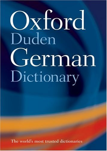 Oxford-Duden German Dictionary  by  Oxford University Press