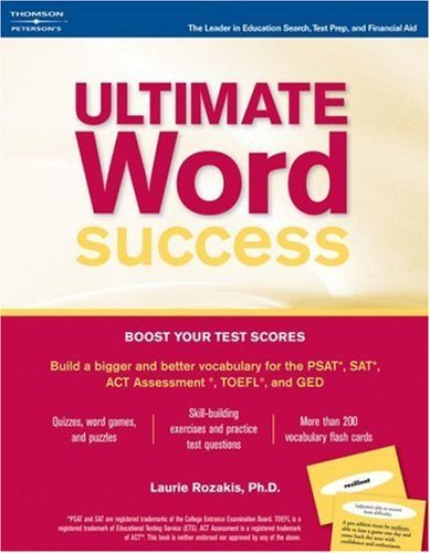 Ultimate Word Success [With Flashcards] Laurie E. Rozakis
