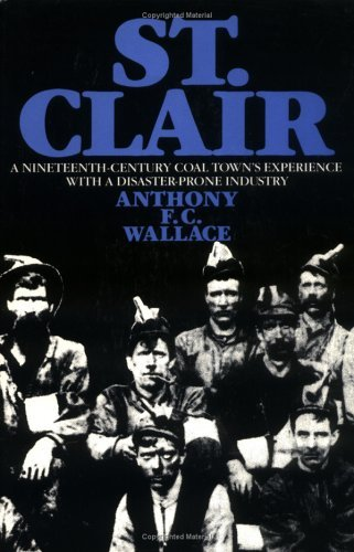 St. Clair: A Nineteenth-Century Coal Towns Experience with a Disaster-Prone Industry  by  Anthony F.C. Wallace