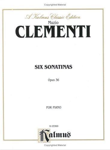 Clementi 6 Sonatinas (Op.36)  by  Muzio Clementi