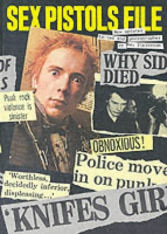 The Sex Pistols File  by  Ray Stevenson