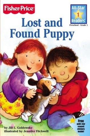 Lost and Found Puppy [With Stickers] Jill L. Goldowsky