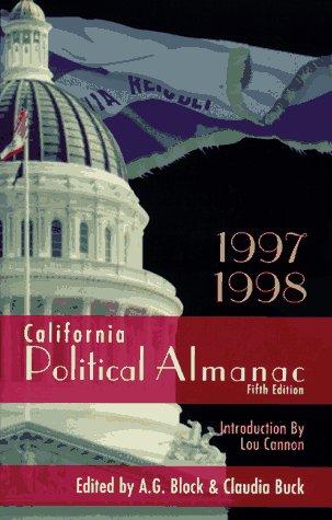 1997-1998 California Political Almanac Claudia Buck