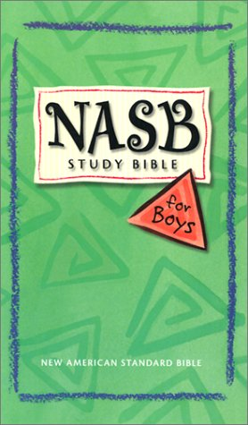 NASB Study Bible for Boys Anonymous