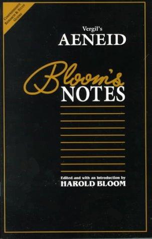 Vergils Aeneid (Blooms Notes) Harold Bloom