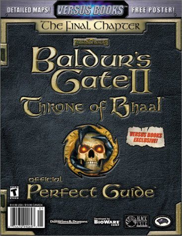 Versus Books Official Baldurs Gate Ii: Throne Of Bhaal Perfect Guide Jason  Brown