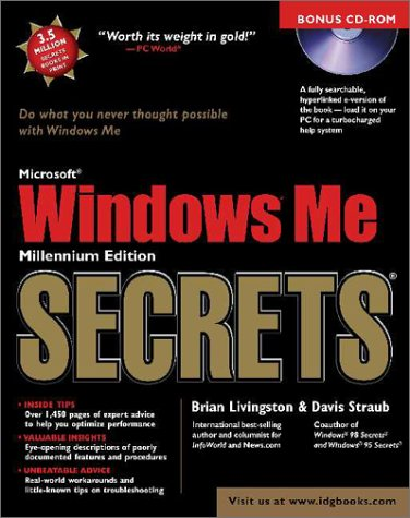 Microsoft Windows Me Secrets [With Provides E-Version of the Book]  by  Brian Livingston