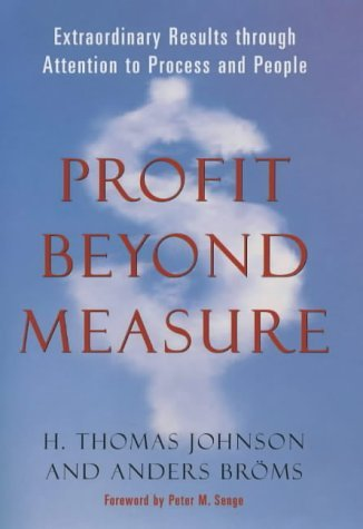 Profit Before Measure  by  H. Thomas Johnson
