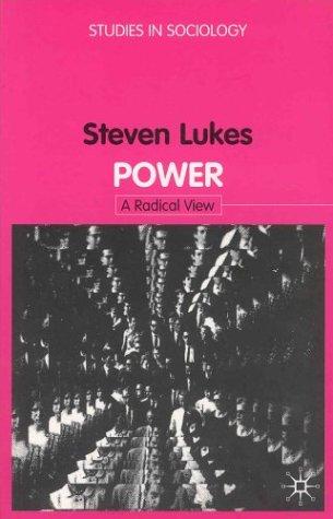 Power: A Radical View Steven Lukes