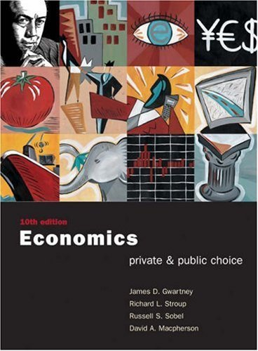 Economics: Private and Public Choice with Xtra! CD-ROM and Infotrac College Edition James D. Gwartney