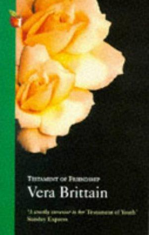 Testament of Youth:  by  Vera Brittain