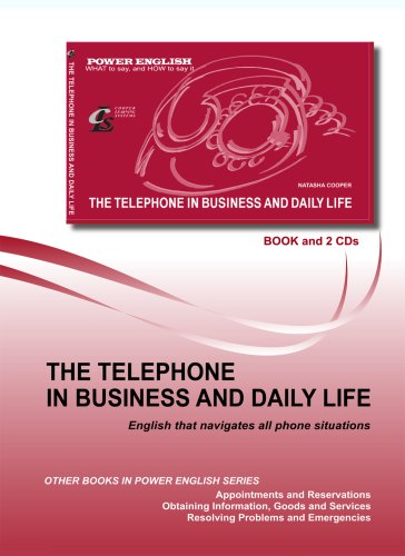 The Telephone in Busines and Daily Life (Power English Series)  by  Natasha Cooper