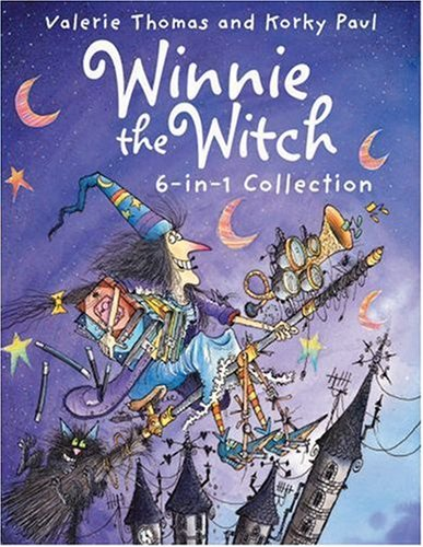 Winnie The Witch 6 In1 Collection  by  Valerie Thomas