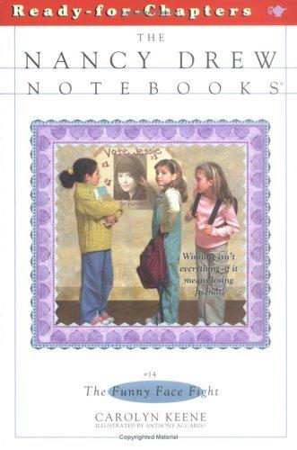 The Funny Face Fight (Nancy Drew: Notebooks, #14)  by  Carolyn Keene