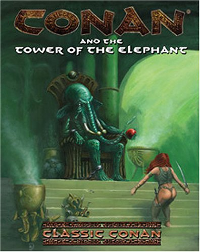 Conan & The Tower Of The Elephant  by  Greg Lynch