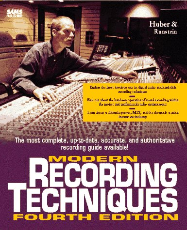 Modern Recording Techniques  by  David Miles Huber