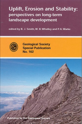 Uplift, Erosion and Stability: Perspectives on Long-Term Landscape Development  by  Bernard J. Smith