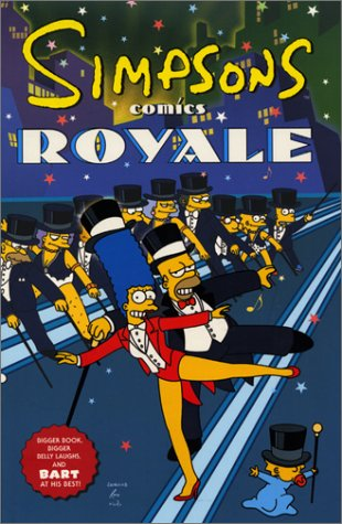 Simpsons Comics Royale Uk Edition Matt Groening