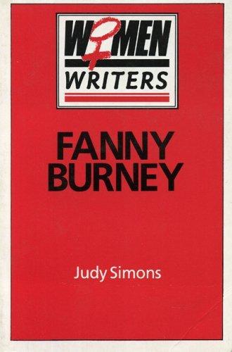 Fanny Burney  by  Judy Simons